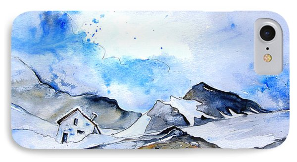 Col Du Pourtalet In The Pyrenees 01 Phone Case by Miki De Goodaboom