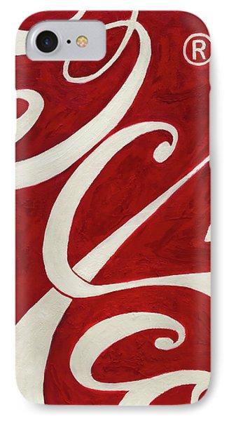 Cola - Coca Phone Case by Antonio Ortiz