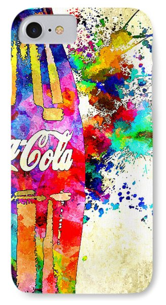 Cola Grunge IPhone Case by Daniel Janda