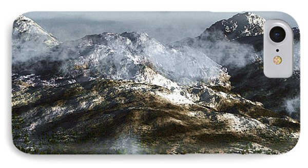 Cold Mountain Phone Case by Richard Rizzo