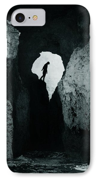 Cold Silence IPhone Case by Cambion Art
