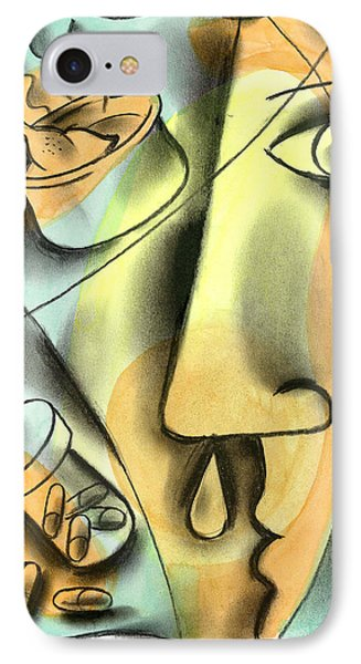 Cold Treatment IPhone Case by Leon Zernitsky