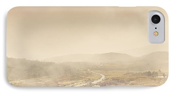 Cold Winter Landscape On Cradle Mountain Tasmania IPhone Case