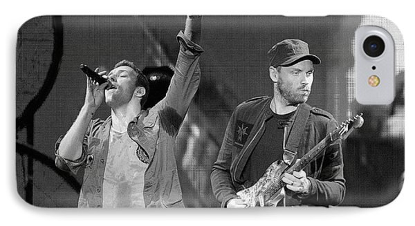 Coldplay 14 IPhone 7 Case by Rafa Rivas