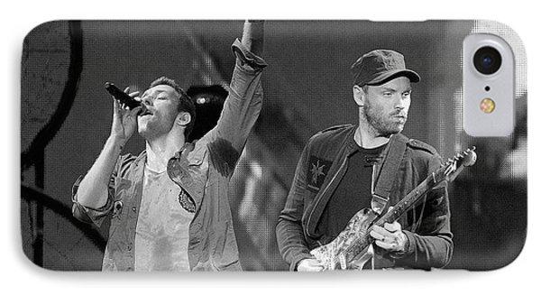 Coldplay 14 IPhone 7 Case by Rafa Rivas