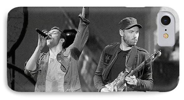 Coldplay 14 IPhone Case by Rafa Rivas
