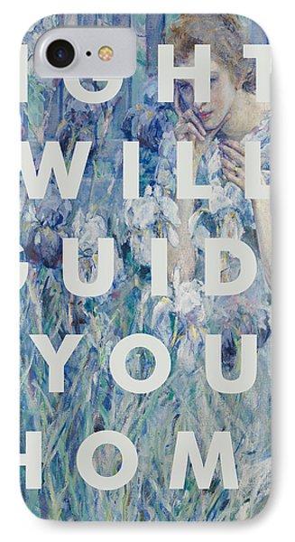 Coldplay Lyrics Print IPhone Case
