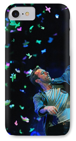 Coldplay1 IPhone 7 Case by Rafa Rivas
