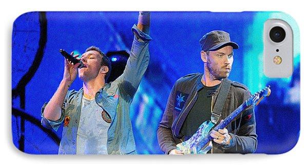 Coldplay6 IPhone 7 Case by Rafa Rivas