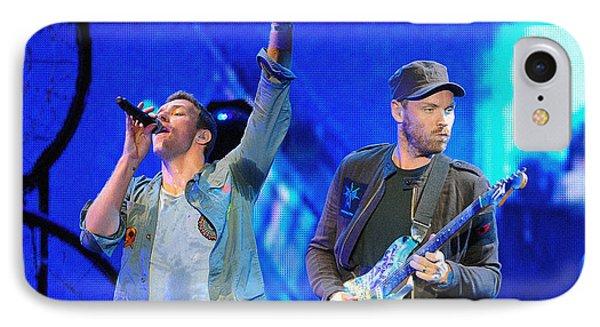 Coldplay6 IPhone Case by Rafa Rivas