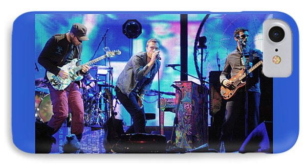 Coldplay7 IPhone Case by Rafa Rivas