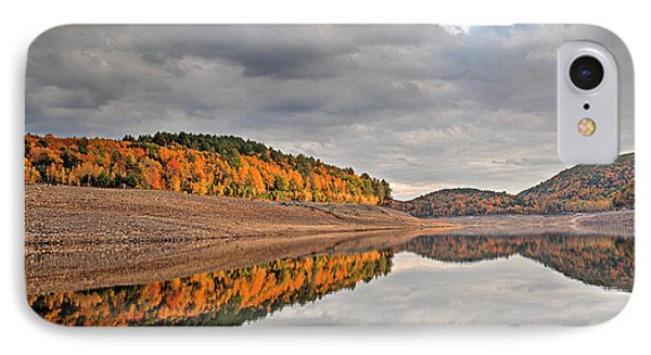 Colebrook Reservoir - In Drought IPhone Case by Tom Cameron
