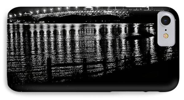 Coleman Bridge Lights IPhone Case by Rachel Morrison