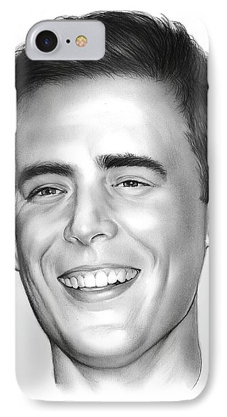 Colin Hanks IPhone Case by Greg Joens