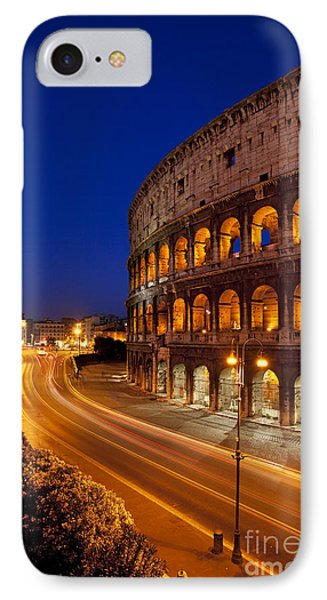 Coliseum At Twilight Phone Case by Brian Jannsen