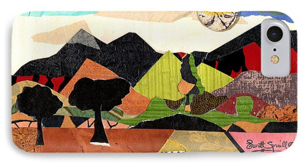 Collage Landscape 1 IPhone Case