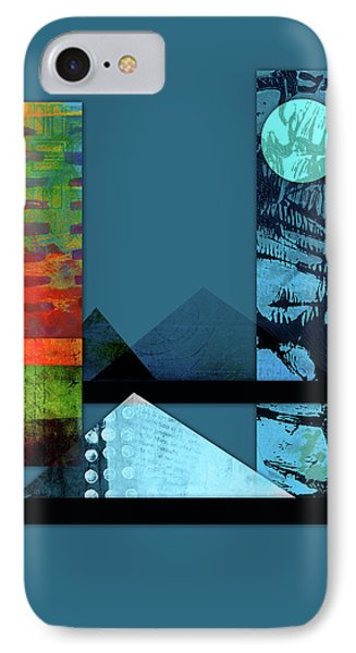 Collage Landscape 1 IPhone Case by Patricia Lintner