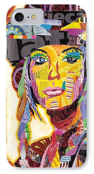 Collage Portrait Phone Case by Oprisor Dan