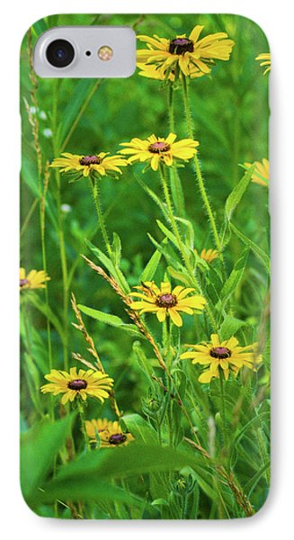 IPhone 7 Case featuring the photograph Collection In The Clearing by Bill Pevlor