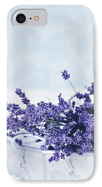 IPhone Case featuring the photograph Collection Of Lavender  by Stephanie Frey