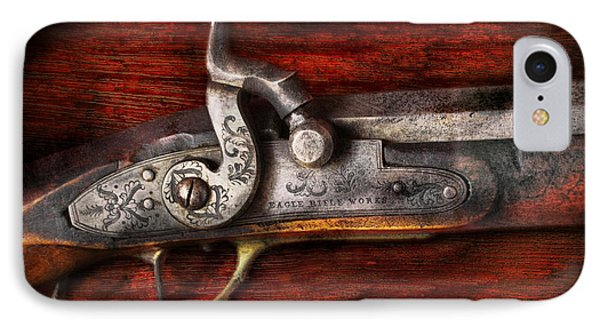 Collector - Gun - Rifle Works  Phone Case by Mike Savad