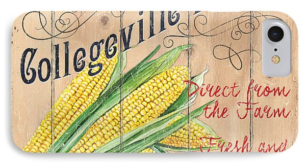 Collegeville Market IPhone Case by Debbie DeWitt