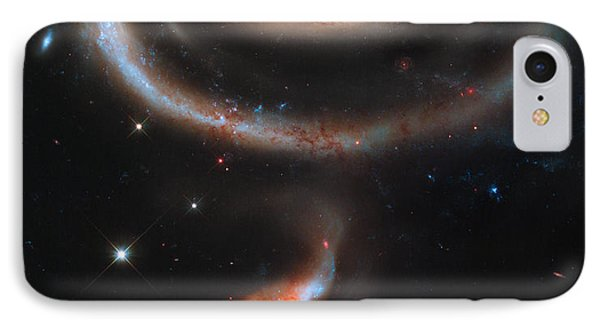 Colliding Galaxies IPhone Case by Nicholas Burningham