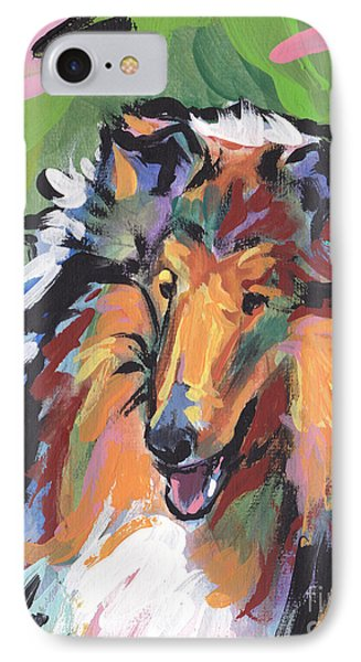 Collie Folly Phone Case by Lea S