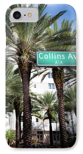 Collins Av A1a IPhone Case