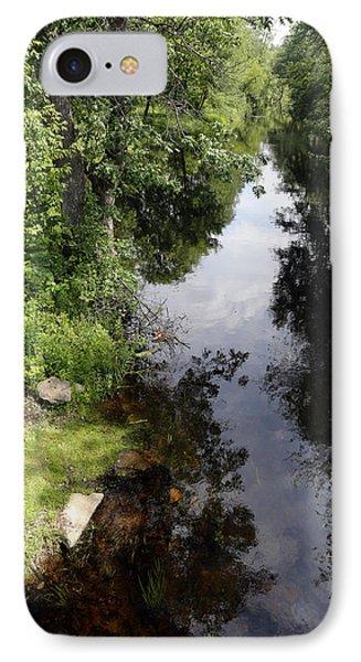 Collins Creek June 15 2015 IPhone Case by Jim Vance