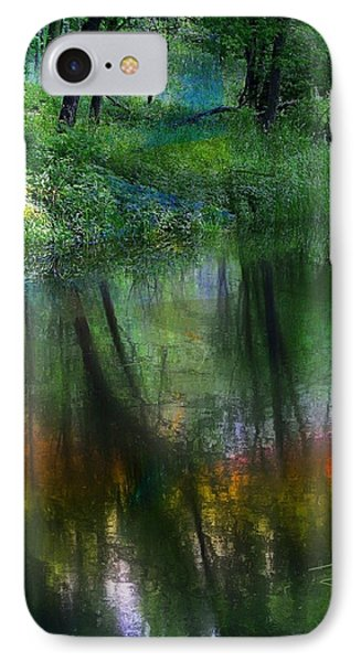 Collins Creek Reflections IPhone Case