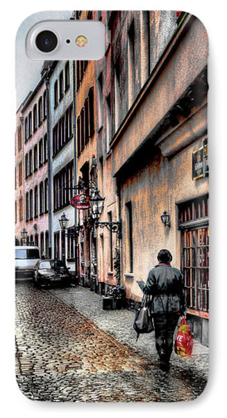 Cologne Alstadt IPhone Case by Jim Hill