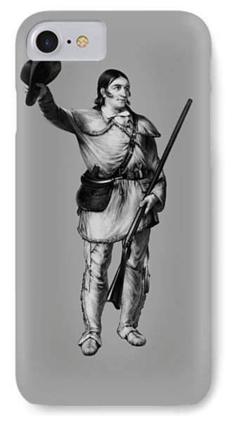 Colonel Davy Crockett Phone Case by War Is Hell Store