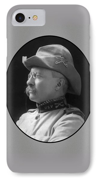 Colonel Roosevelt Phone Case by War Is Hell Store