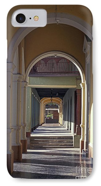 Colonial Arches Granada Nicaragua Phone Case by John  Mitchell