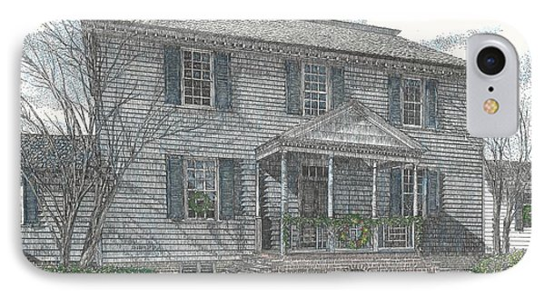 Colonial Williamsburg's Carter House IPhone Case by Stephany Elsworth