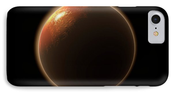 Colonization Of Mars IPhone Case by Allan Swart