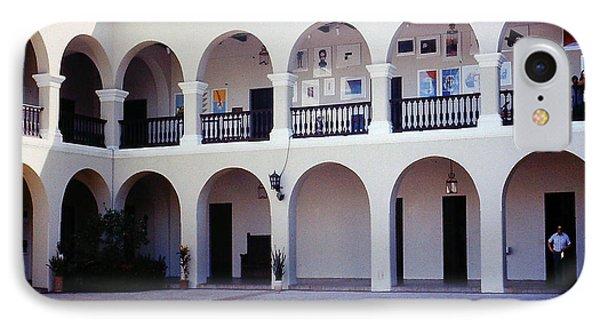 Colonnade In San Juan Puerto Rico IPhone Case by Merton Allen