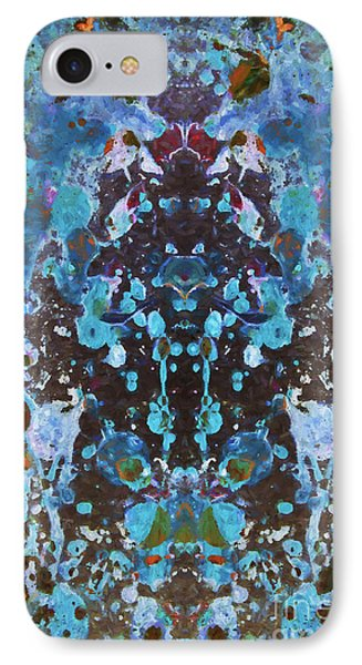 Color Abstraction Iv IPhone Case by David Gordon