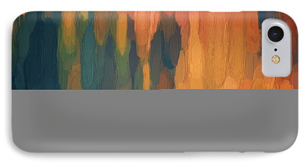 Color Abstraction L Sq IPhone Case by David Gordon