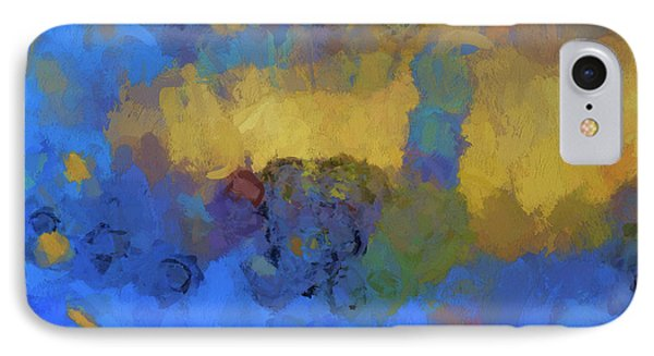 Color Abstraction Lviii IPhone Case by David Gordon