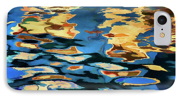 Color Abstraction Lxix IPhone Case by David Gordon