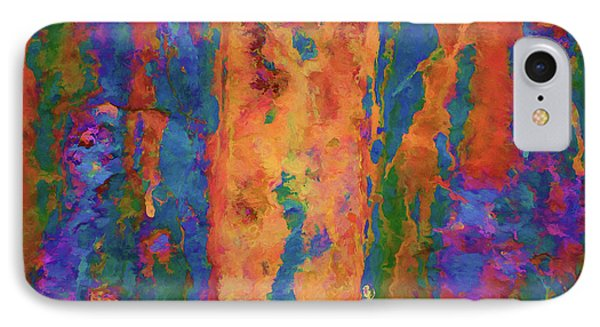 Color Abstraction Lxvi IPhone Case by David Gordon