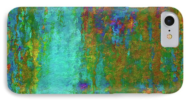 Color Abstraction Lxvii IPhone Case by David Gordon