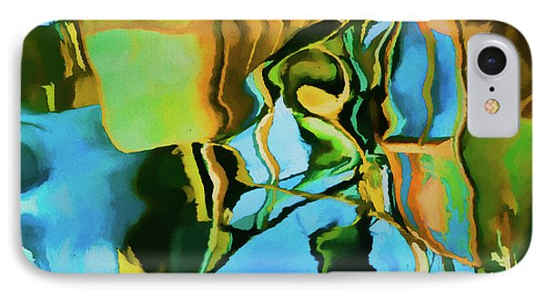 IPhone Case featuring the photograph Color Abstraction Lxxiii by David Gordon