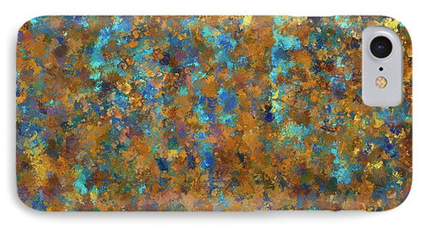 Color Abstraction Lxxiv IPhone Case by David Gordon