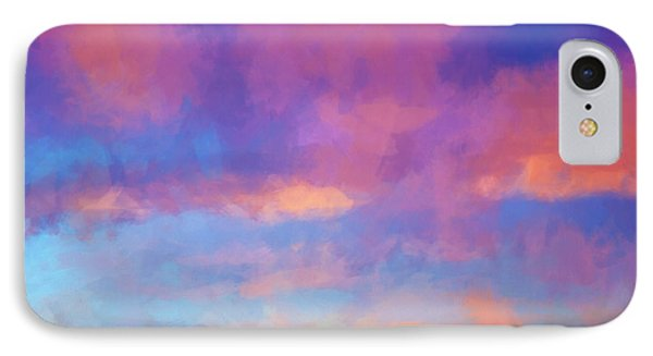 Color Abstraction Xlviii - Sunset IPhone Case by Dave Gordon