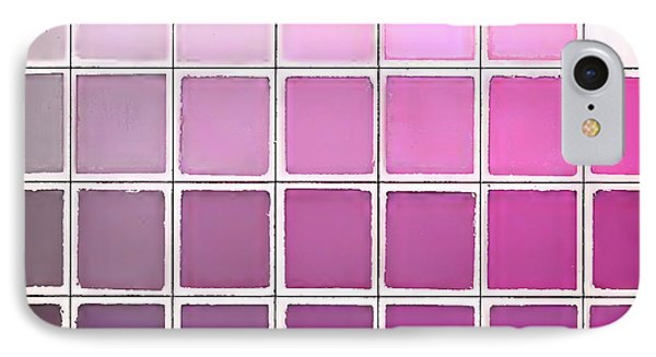 Color Chart Pink IPhone Case by Mindy Sommers
