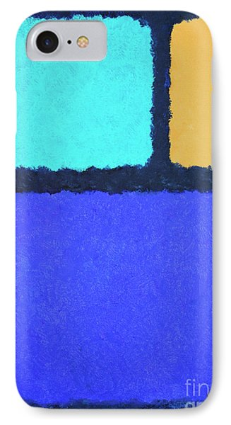 IPhone Case featuring the painting Color Fields by Jutta Maria Pusl