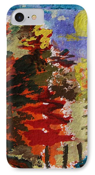 Color Forest IPhone Case by Mary Carol Williams